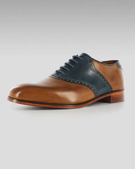 Florsheim by Duckie Brown The Saddle, Toffee-Blue