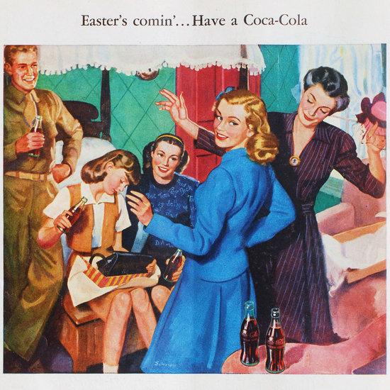 Vintage Easter Ads