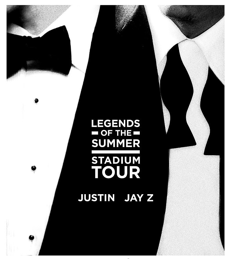 At the end of February, Justin and Jay-Z announced their Legends of Summer Tour, with tickets going on presale Feb. 27.