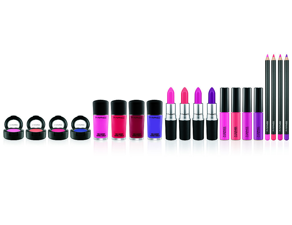 Matching Eyes, Lips, and Nails Is Easy With Mac Cosmetics' Monotone Makeup Sets