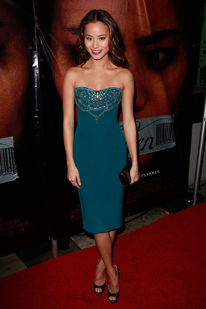 Jamie Chung lit up the red carpet at the Eden premiere in LA with the perfect take on Young Hollywood glamour.