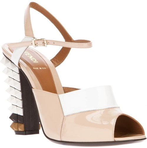 Fendi heeled sandal