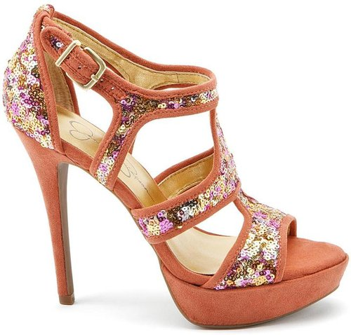 Bruno Golden Rose High Heels
