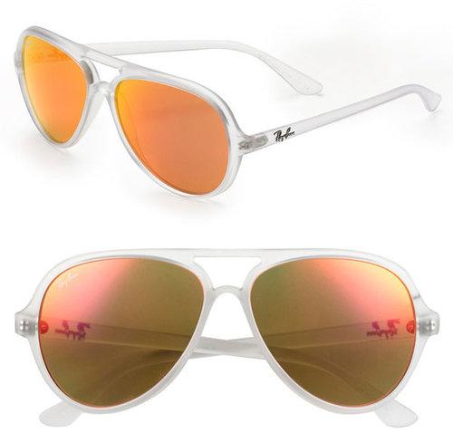 Ray-Ban 59mm Aviator Sunglasses