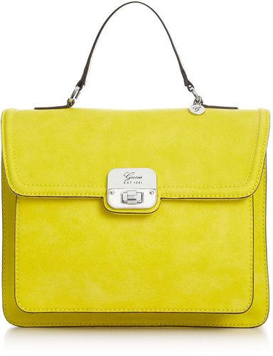 GUESS Handbag, Cordova Top Handle Flap Satchel