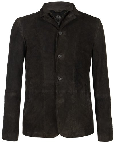 Surmise Leather Blazer
