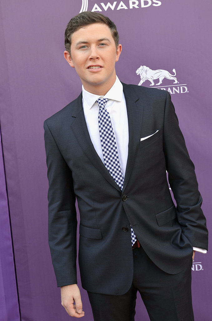 Scotty McCreery at the ACM Awards.