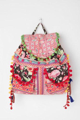 Ecote Geo Pompom Backpack