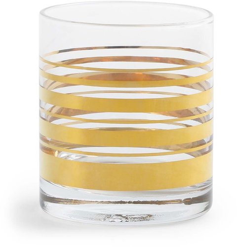 Golden Stripe DOF Glasses (Set of 4)