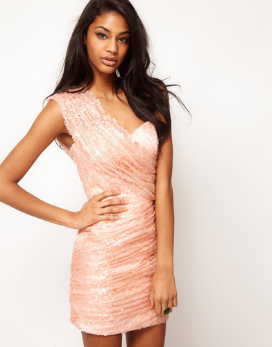 Opulence England One Shoulder Sequin Dress
