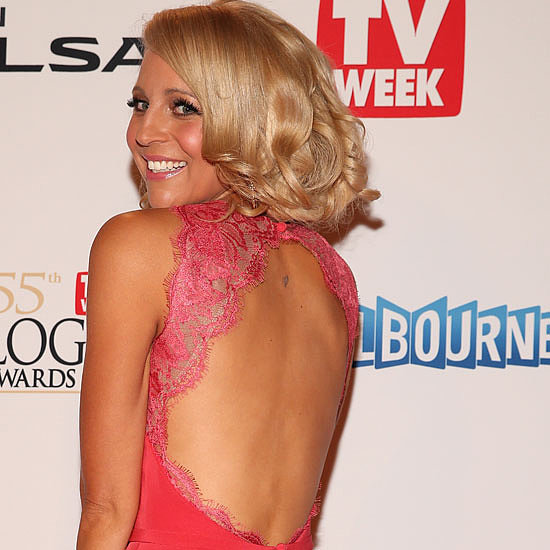 Carrie Bickmore Wears Steven Khalil to the 2013 Logies
