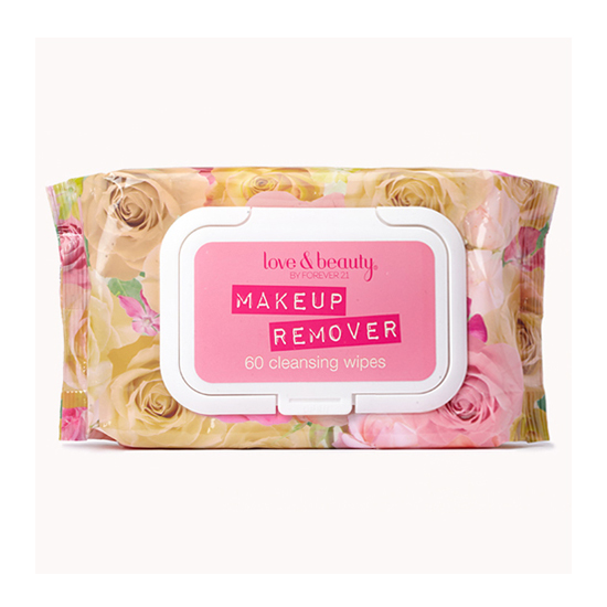 Talk about bang for your buck! The Love & Beauty Makeup Remover Cleansing Wipes ($4) come in a pretty floral package stuffed with 60 wipes. They smell divine, aren't tested on animals, and easily wipe away makeup.