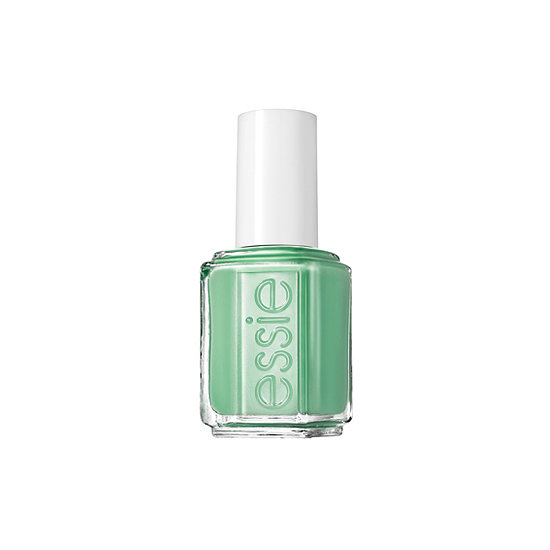 You don't have to have a tropical vacation lined up to enjoy Essie First Timer ($8) from the line's Resort collection. This bright shade of green is more saturated than a pastel, but still soft enough to feel sweet.