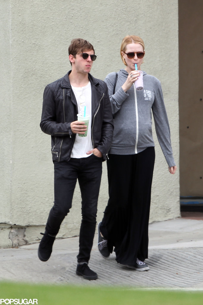 Evan Rachel Wood and Jamie Bell walked in LA together.
