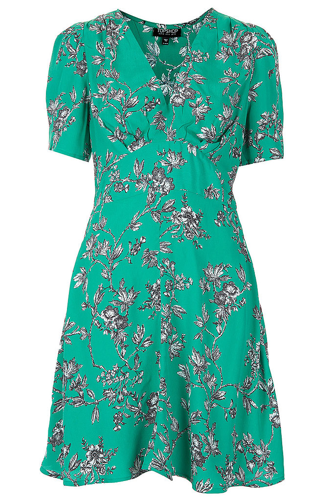 This Topshop Branch floral tea dress ($92) makes it easy to get the ladylike look, or even channel a little '90s nostalgia, depending on how you style it.
