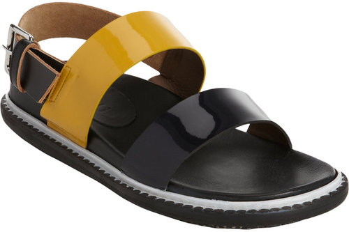 Marni Two-Tone Slingback Sandal