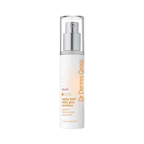 You don't necessarily have to step out into the sun to get a shot of vitamin D. Not only does Dr. Dennis Gross's Daily Glow Moisturizer ($42) contain vitamin D to aid in moisturizing, but it also brightens the complexion with microencapsulated DHA (the stuff that bronzes skin).