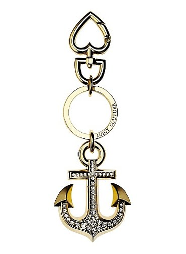 Set sail with this anchor key fob by Juicy Couture ($42).