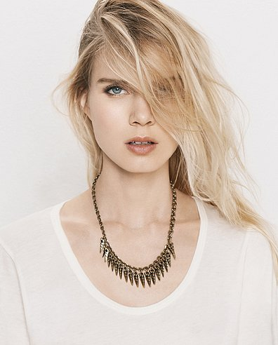 The limited-edition Giles & Brother x JewelMint collection is what the cool girl needs in her Spring jewelry arsenal. While it's selling out quickly, we're hoping to get our hands on this multispear collar ($60), which effectively puts a cool horn-accented spin on a brass chain necklace.