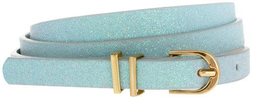 ASOS Pastel Glitter Metal Keeper Super Skinny Waist