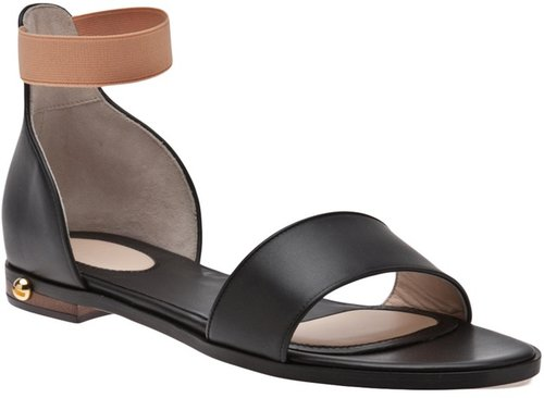 Givenchy Flat leather sandal
