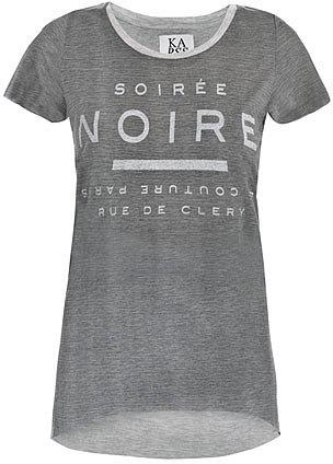 Zoe Karssen Soiree Noir  striped T-shirt