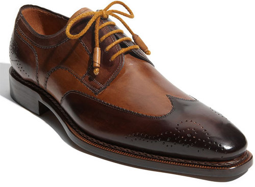 Mezlan 'Copa' Wingtip Oxford (Online Exclusive)