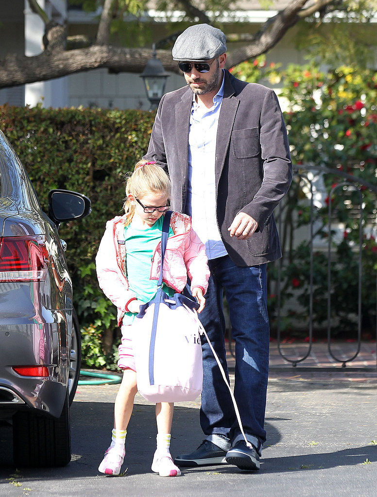 Ben Affleck and Violet Affleck made a father-daughter stop in Santa Monica.