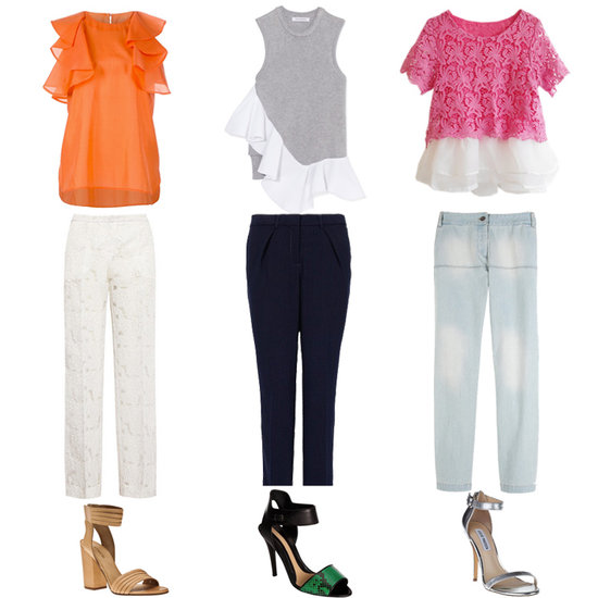 How to Wear the Ruffles Trend 2013
