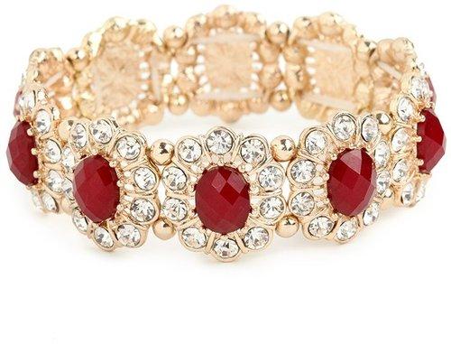 Merlot Bloom Bracelet