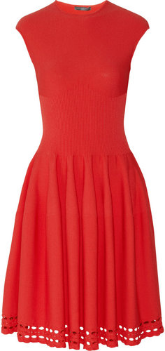 Alexander McQueen Stretch-knit dress