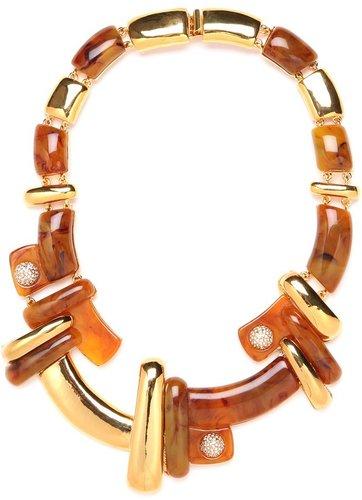 Kara Ross Resin Braque Necklace