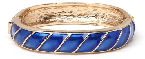 Blue Collegiate Cuff