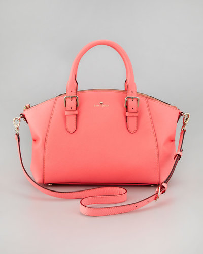 Kate Spade New York Charlotte Street Small Sloan Tote Bag, Coral