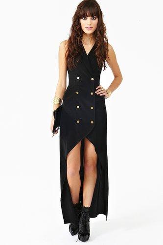 La Femme Tux Dress