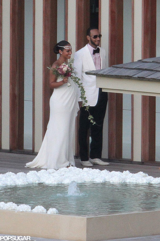 A pregnant Alicia Keys and Swizz Beatz tied the knot in July 2010 on the island of Corsica.