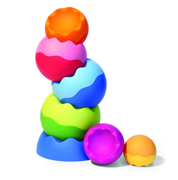 Fatbrain Tobbles Neo Weighted Stacking Toy