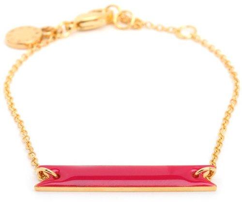 Brandy Pham Pink Bar Bracelet