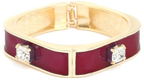 Burgundy Ice Bangle
