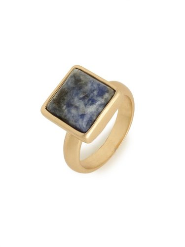 Lapis Quad Ring