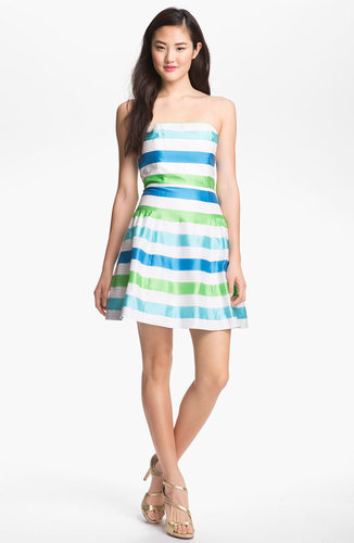 Lilly Pulitzer Stripe Fit & Flare Dress