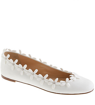 Collection daisy chain ballet flats