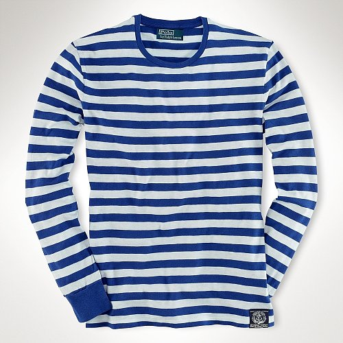 Polo Ralph Lauren Long-Sleeved Striped T-Shirt