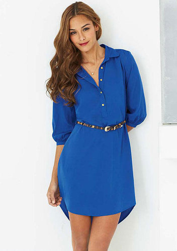 Indulge Claire Shirt Dress