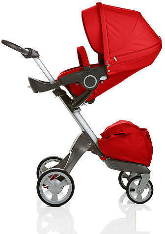 Stokke Xplory Stroller - Red