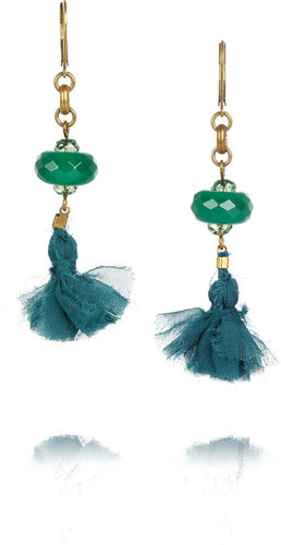Isabel Marant Beaded tassel earrings