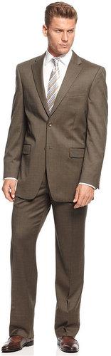 Jones New York Suit, 24/7 Khaki Stepweave