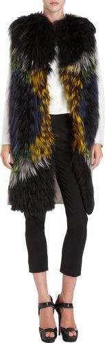 Fendi Fur Front Coat