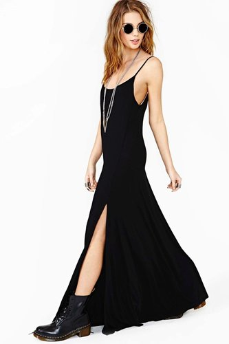 Night Wanderer Maxi Dress