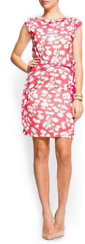 Flowery print dress